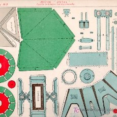 Coleccionismo Recortables: RECORTABLE DE MOTOR DIESEL Nº 1 SERIE M.P. HOJA Nº 4. Lote 13850467