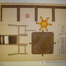 Coleccionismo Recortables: RECORTABLE TROQUELADO MUEBLES COMEDOR DE EDITORIAL BARSAL Nº 3. Lote 13864671