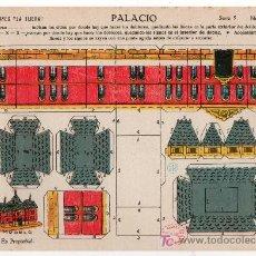 Coleccionismo Recortables: RECORTABLE EDICIONES LA TIJERA SERIE 5 Nº 48. PALACIO. Lote 14185832