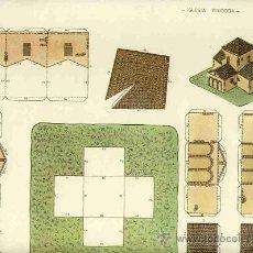 Coleccionismo Recortables: RECORTABLE DE CONSTRUCCIONES: IGLESIA VISIGODA (SIN EDITOR, NUM.8). Lote 52520819