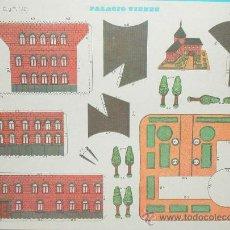 Coleccionismo Recortables: PALACIO VIENES - EDITORIAL CULTURA Y PROGRESO - Nº 1101 - NUEVO 1971. Lote 25752601