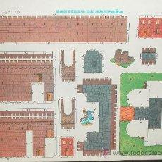 Coleccionismo Recortables: CASTILLO DE BRETAÑA - EDITORIAL CULTURA Y PROGRESO - Nº 1.106 - NUEVO 1971. Lote 25183602