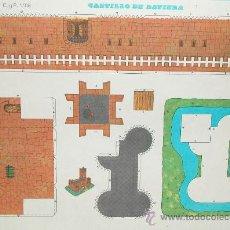 Coleccionismo Recortables: RECORTABLE - CASTILLO DE BAVIERA - EDITORIAL CULTURA Y PROGRESO - Nº 1.108 - NUEVO 1971. Lote 25183603
