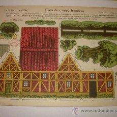Coleccionismo Recortables: RECORTABLE MARCA LA TIJERA. Lote 20024587