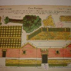 Coleccionismo Recortables: RECORTABLE MARCA LA TIJERA. Lote 20024594