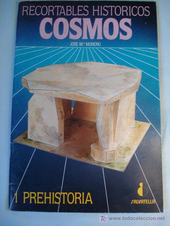 RECORTABLES HISTORICOS COSMO,1 PREHISTORIA,EDIT. SALVATELLA (Coleccionismo - Recortables - Construcciones)