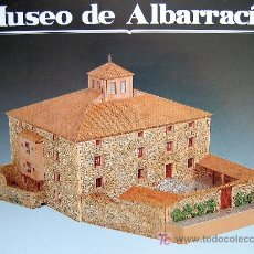 Colecionismo Recortáveis: RECORTABLE ANTIGUO HOSPITAL DE ALBARRACIN (TERUEL). HOY MUSEO. ¡¡¡ RARO !!!. Lote 153434284