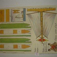 Coleccionismo Recortables: ANTIGUO RECORTABLE CONSTRUCCIONES FERNANDITO. Lote 17878786