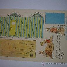 Coleccionismo Recortables: ANTIGUO RECORTABLE CONSTRUCCIONES FERNANDITO. Lote 17878920