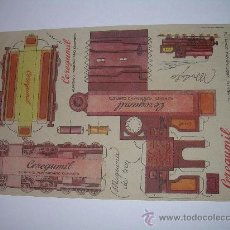 Coleccionismo Recortables: ANTIGUO RECORTABLE (CEREGUMIL). Lote 17878997
