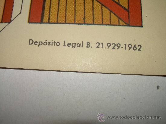 Coleccionismo Recortables: ANTIGUO RECORTABLE.....TORAY...SERIE OESTE....AÑO 1.962 - Foto 3 - 22147292