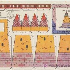 Coleccionismo Recortables: FARO. CONSTRUCCIONES ROSITA. EDITORIAL ROMA. (17,12,5). Lote 19646080
