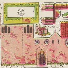 Coleccionismo Recortables: CONSTRUCCIONES ROSITA. CAPILLA.(12,5X17,5) EDITORIAL ROMA.. Lote 19647955