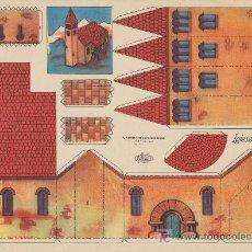 Coleccionismo Recortables: RECORTABLES KIKI Nº 1. (21,5X29) IGLESIA PIRENAICA.. Lote 19771550