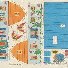Coleccionismo Recortables: RECORTES ORBITA (17,5X26) CASAS Nº 4. EDITORIAL ROMA.. Lote 19875473