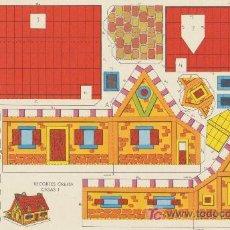 Coleccionismo Recortables: RECORTES ORBITA (17,5X26) CASAS Nº 1. EDITORIAL ROMA.. Lote 19875655