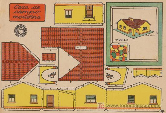 Recortables bruguera 21x29 casa de campo mo comprar for Programmi di casa moderna pdf