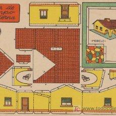 Coleccionismo Recortables: RECORTABLES BRUGUERA (21X29) CASA DE CAMPO MODERNA.. Lote 19903069
