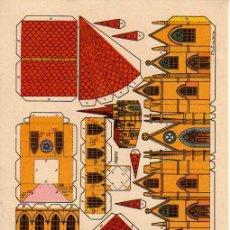 Coleccionismo Recortables: RECORTABLE EDITORIAL ROMA - RECORTES CHIQUI. CASAS 3. Lote 270635753