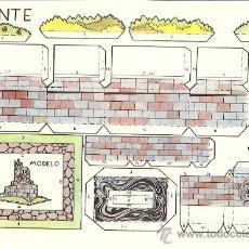 Coleccionismo Recortables: FUENTE - RECORTES AZUCENA - TAMAÑO HOJA 25 X 17 CM.. Lote 23438481