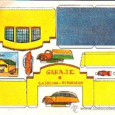 Coleccionismo Recortables: RECORTABLE CONSTRUCCIONES FERNANDITO GARAJE . Lote 24150030