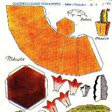 Coleccionismo Recortables: RECORTABLE CONSTRUCCIONES FERNANDITO MACETA ED. ROMA . Lote 24150155