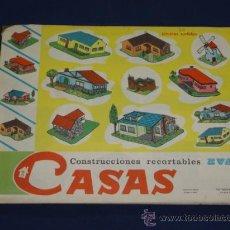 Coleccionismo Recortables: 50 LAMINAS SURTIDAS - CONSTRUCCIONES RECORTABLES EVA. CASAS. Lote 24763337