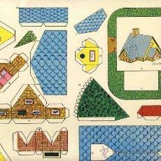 Coleccionismo Recortables: RECORTABLE DE CONSTRUCCIONES (ED.ROMA, RECORTES KIKI-LOLO, SERIE CASAS NUM.12). Lote 24778775