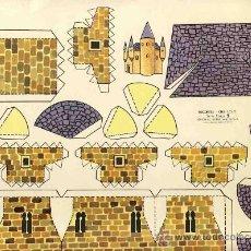 Coleccionismo Recortables: RECORTABLE DE CONSTRUCCIONES (ED.ROMA, RECORTES KIKI-LOLO, SERIE CASAS NUM.9). Lote 24778812