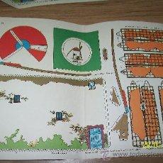 Coleccionismo Recortables: RECORTABLES TORAY.- CASAS.- ,MOLIMO DE LA MANCHA.- 1962- 29 X 40 CM.. Lote 25353658