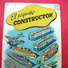 Coleccionismo Recortables: EL PEQUEÑO CONSTRUCTOR - ED. ROMA - P. MANÉN BARCELONA - Nº 1 - RECORTABLES. Lote 26202100