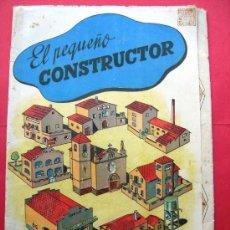 Coleccionismo Recortables: EL PEQUEÑO CONSTRUCTOR - ED. ROMA - P. MANÉN BARCELONA - Nº 2 - RECORTABLES. Lote 26202179