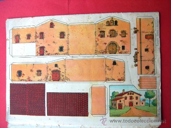 Coleccionismo Recortables: EL PEQUEÑO CONSTRUCTOR - ED. ROMA - P. MANÉN BARCELONA - Nº 2 - RECORTABLES - Foto 2 - 26202179