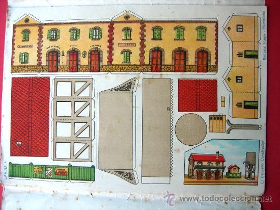 Coleccionismo Recortables: EL PEQUEÑO CONSTRUCTOR - ED. ROMA - P. MANÉN BARCELONA - Nº 2 - RECORTABLES - Foto 3 - 26202179