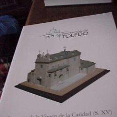 Coleccionismo Recortables: RECORTABLE. SANTUARIO DE LA VIRGEN DE LA CARIDAD. S. XV. ILLESCAS. DIPUTACION DE TOLEDO 2010.. Lote 115352460