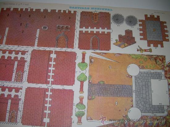 Coleccionismo Recortables: BLOC DE 10 RECORTABLES DE CONSTRUCCIONES....DEL Nº. 2101 AL 2110 - Foto 2 - 28006693
