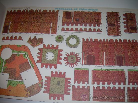 Coleccionismo Recortables: BLOC DE 10 RECORTABLES DE CONSTRUCCIONES....DEL Nº. 2101 AL 2110 - Foto 4 - 28006693