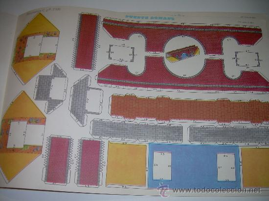 Coleccionismo Recortables: BLOC DE 10 RECORTABLES DE CONSTRUCCIONES....DEL Nº. 2101 AL 2110 - Foto 5 - 28006693