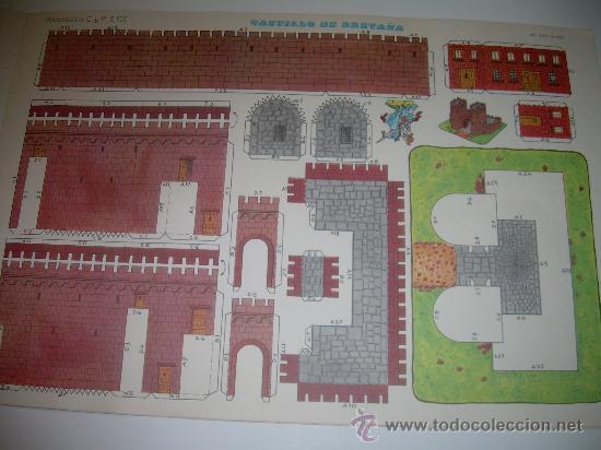 Coleccionismo Recortables: BLOC DE 10 RECORTABLES DE CONSTRUCCIONES....DEL Nº. 2101 AL 2110 - Foto 6 - 28006693