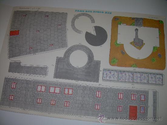 Coleccionismo Recortables: BLOC DE 10 RECORTABLES DE CONSTRUCCIONES....DEL Nº. 2101 AL 2110 - Foto 7 - 28006693