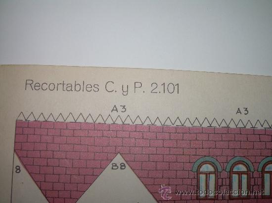 Coleccionismo Recortables: BLOC DE 10 RECORTABLES DE CONSTRUCCIONES....DEL Nº. 2101 AL 2110 - Foto 13 - 28006693