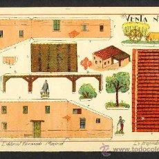 Coleccionismo Recortables: RECORTABLE DE CONSTRUCCIONES: VENTA (ED.HERNANDO NUM.48). Lote 52520832