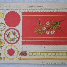 Coleccionismo Recortables: LA TIJERA SERIE 10. Lote 28212195