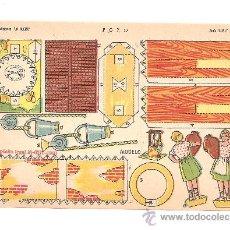 Coleccionismo Recortables: LOTE 16 RECORTABLES EDICIONES LA TIJERA SERIE LILIPUT,AÑO 1960.VER FOTOS.. Lote 136914053