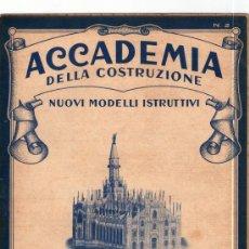Coleccionismo Recortables: RECORTABLE ACCADEMIA DELLA COSTRUZIONE. DUOMO DI MILANO. SOLO 2ª PARTE.. Lote 63293631