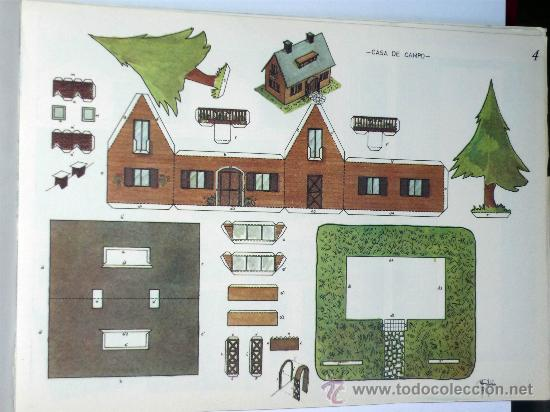 Recortable Manualidades Zulia Casa De Campo Rec Comprar - Casa-de-manualidades
