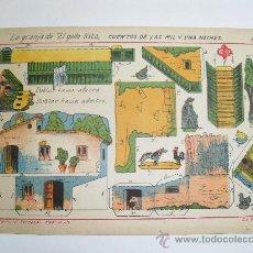 Coleccionismo Recortables: EDITORIAL HERNANDO.LA GRANJA DEL GALLO LISTO. Lote 30451494