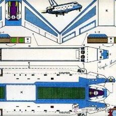Coleccionismo Recortables: RECORTABLE TRANS MODEL AIRBUS, BARCELONA 1991, DE VIRGILI LUIS ESTEBAN. Lote 31571435