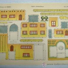Coleccionismo Recortables: LA TIJERA SERIE IMPERIO Nº1.JEEP RUBIA. Lote 31581884