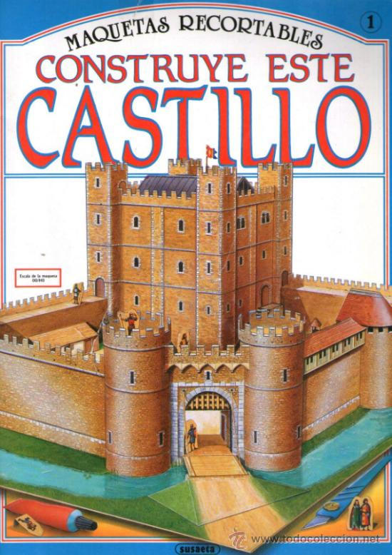 Recortable de castillo medieval editorial sus comprar for Editorial susaeta
